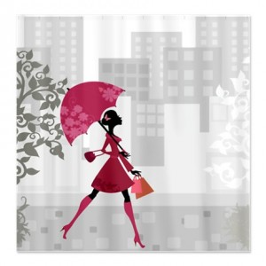 Flower Fairy Girl 3 Shower Curtain