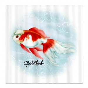 Lovely Goldfish Shower Curtain