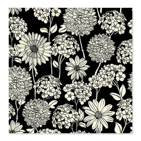 Cream And Black Shower Curtain Leopard Print Fabric Bath Shower - Black and white flower shower curtain