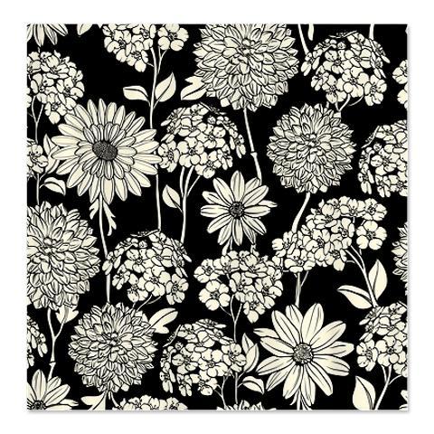 Black Cream 2A Shower Curtain