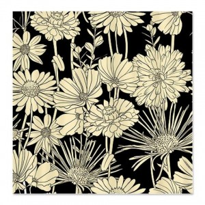 Black White 3a Shower Curtain