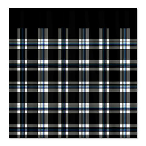 Country Plaid Shower Curtain 10