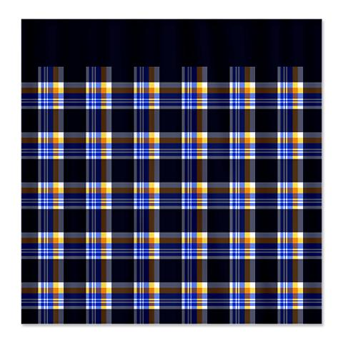 Country Plaid Shower Curtain 12