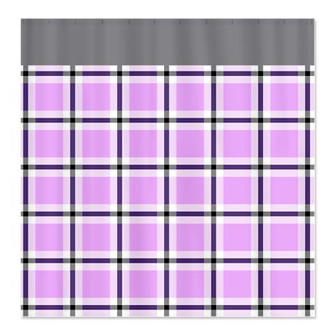 Country Plaid Shower Curtain 17