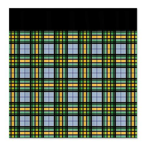Country Plaid Shower Curtain 2