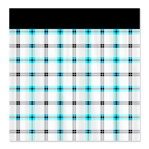Country Plaid Shower Curtain 21