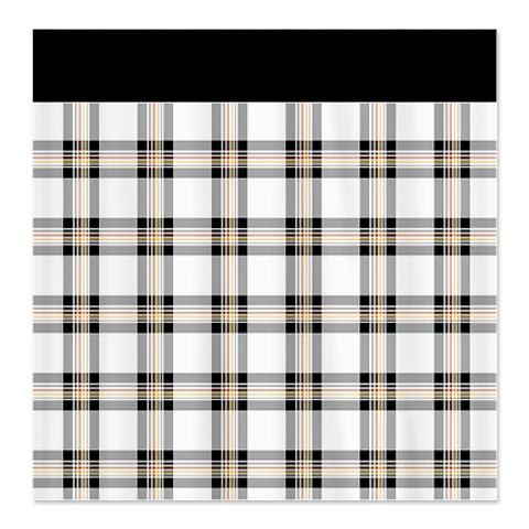 Country Plaid Shower Curtain 22