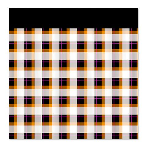 Country Plaid Shower Curtain 23