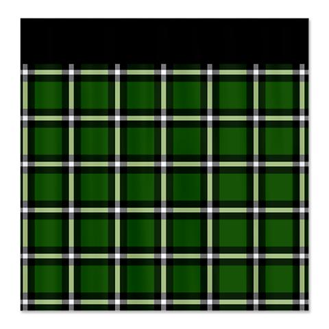 Country Plaid Shower Curtain 5