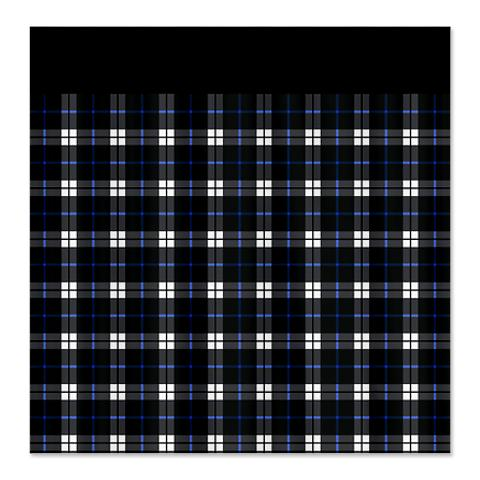 Country Plaid Shower Curtain 6