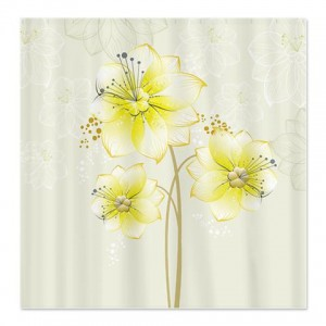 Daffodil Blossoms Shower Curtain