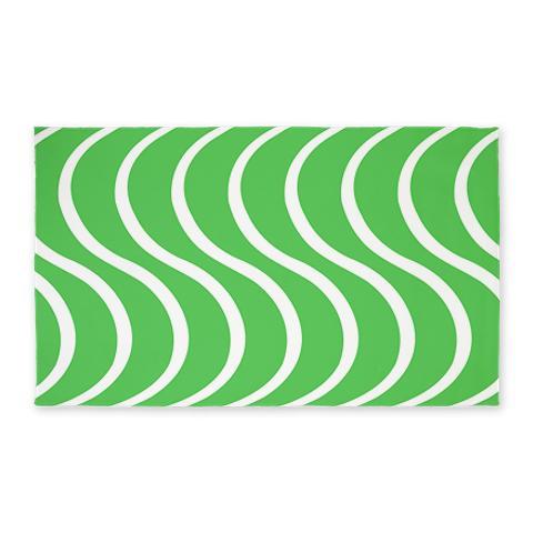 Green Wave 3'x5' Area Rug