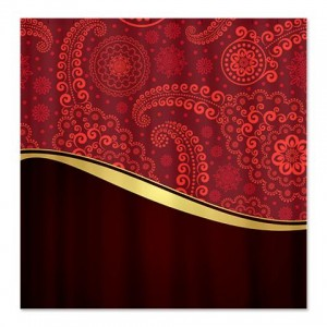 Ornate Floral 5 Shower Curtain