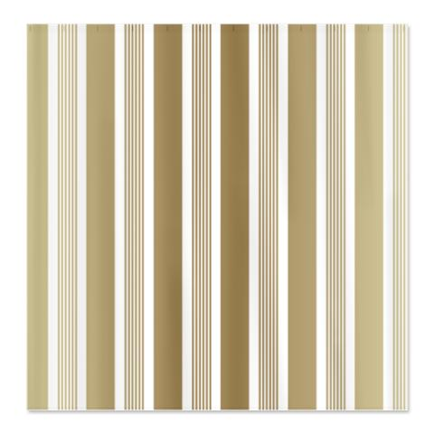 Beige Gradient Stripes Shower Curtain