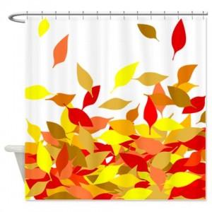 Autumn Leaves 3 Shower Curtain