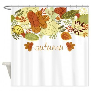 Autumn Leaves 4a Shower Curtain