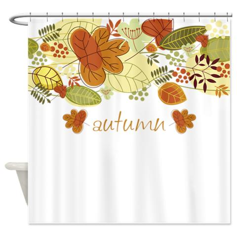 Delicieux Autumn Leaves 4a Shower Curtain