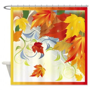Autumn Leaves 5 Shower Curtain
