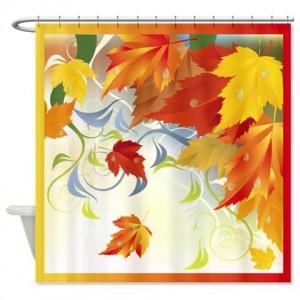 Autumn Leaves 5 Shower Curtain