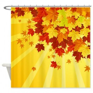 Autumn Leaves 7 Shower Curtain