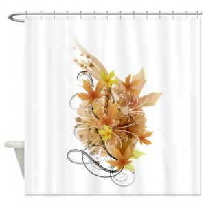 Autumn Leaves 9 Shower Curtain