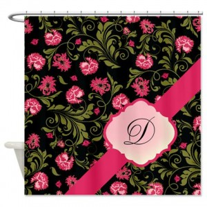 Beautiful Vintage Floral 1 Shower Curtain