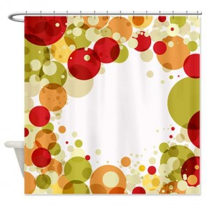 Bubbles 1 Shower Curtain