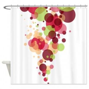 Bubbles 2 Shower Curtain