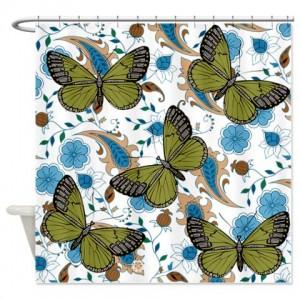 Butterflies 1 Shower Curtain