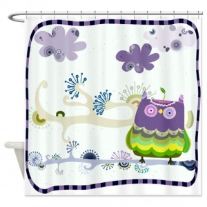 Cartoon Animal 2 Shower Curtain