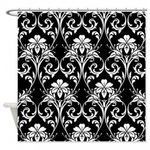 Damask 1 Shower Curtain