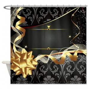 Damask 2 Shower Curtain