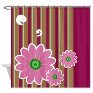 Floral Greetings 11 Shower Curtain
