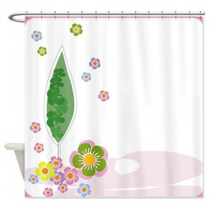 Floral Greetings 12 Shower Curtain