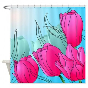 Floral Greetings 13 Shower Curtain