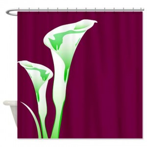 Floral Greetings 16 Shower Curtain