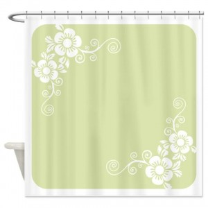 Floral Greetings 17 Shower Curtain