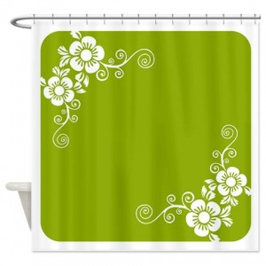 Floral Greetings 18 Shower Curtain