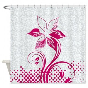 Floral Greetings 19 Shower Curtain
