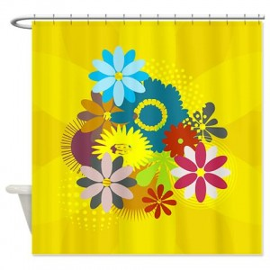 Floral Greetings 01 Shower Curtain