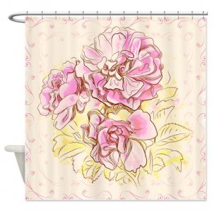 Floral Greetings 20 Shower Curtain