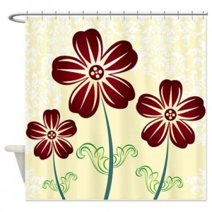 Floral Greetings 21 Shower Curtain