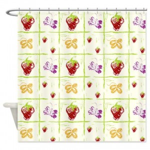 Floral Greetings 24 Shower Curtain