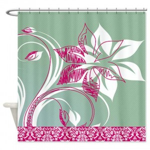 Floral Greetings 02 Shower Curtain