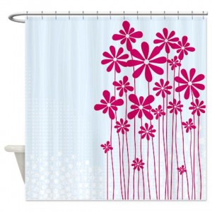 Floral Greetings 05 Shower Curtain