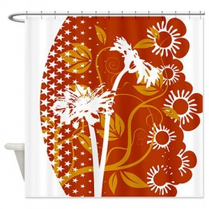 Floral Greetings 07 Shower Curtain