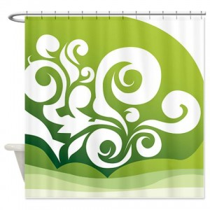 Floral Greetings 09 Shower Curtain