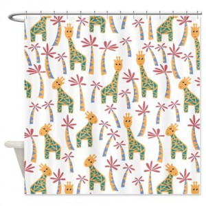 Giraffes 1 Shower Curtain