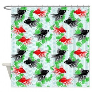 Goldfish 1 Shower Curtain