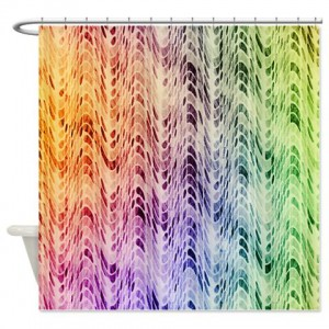 Magenta Abstract Art 21 Shower Curtain
